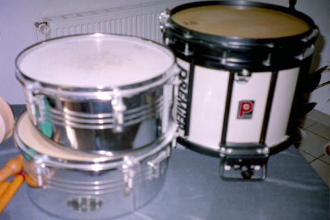 Timbalettas and Scottish Marching Drum