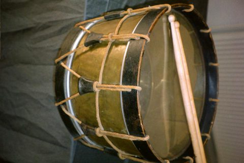 Old French Marching Drum