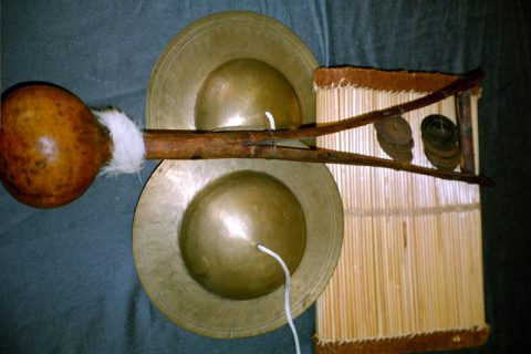 African Shakers and Indian Cymbals