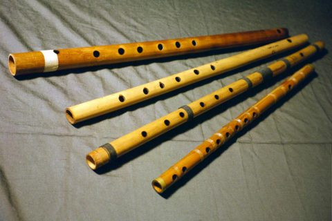 Indian Bansuri Flutes